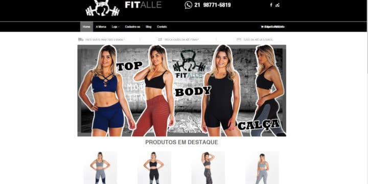 Fitalle Fitness  E-Commerce